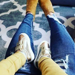 [Gymboree] Metallic Baby Girl Sneakers